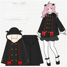 Anime Seraph of the end Krul Tepes Wollmantel Sweatshirt Hoodies Japan Cosplay