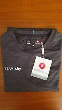 Team sky cycling shirt  Castelli originale maglia ciclismo Tg L