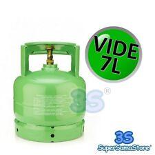 3S BOUTEILLE VIDE 7 LT pour Récupération gaz Réfrigérant R410A R134A avec vanne