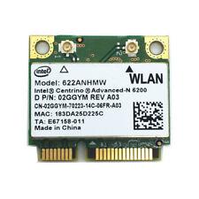 Intel WiFi Link 6200 Centrino Advanced-N 6200 Wireless Card- 02GGYM