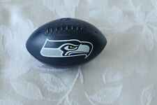 SEATTLE SEAHAWKS SMALL FOOTBALL plastic NFL FREE SHIPPING