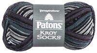 Spinrite Patons Kroy Socks Yarn-Tourmaline Stripes, 243455-55720