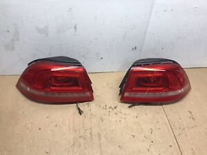 2012-2016 VW VOLKSWAGEN EOS Convertible Taillight Pair Nice Left Right