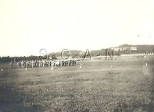 WWI Original Army CKO RPPC- Military Marching Band and Colors- Parade- 1917-18