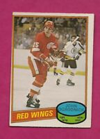 1980-81 OPC # 359 WINGS JOHN OGRODNICK ROOKIE EX-MT CARD (INV# A6430)