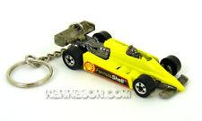 Custom Keychain Turbo Streak Formula Shell Yellow