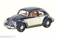 VW Coccinelle bleu/Art blanc N° 452622300 Schuco H0 Modèle 1:87