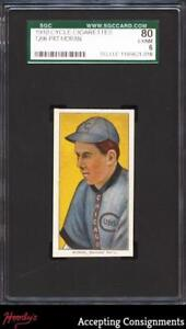 1909-11 T206 #345 Pat Moran Chicago CYCLE SGC 6 EX/NM CUBS
