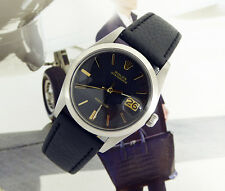 RARE SUPERBE Men's 1970 Rolex précision OYSTERDATE REF 6694-Doré Cadran