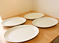 Homer Laughlin Best China U.S.A. Set of 4 Cream Oval Platters Plates Dishes