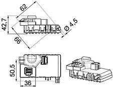 HVAC Blower Motor Resistor-Premium Perfect Fit HVAC Resistor Behr Hella Service