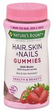 Nature's Bounty Optimal Solutions Hair, Skin, Nails, With Biotin 80ct Gummies