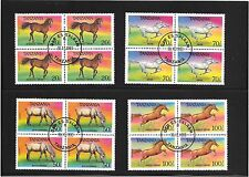 HORSES ON TANZANIAN POSTAGE STAMPS.