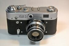 FED 3 camera with Industar-61 lens (chrome), US Seller (READ)