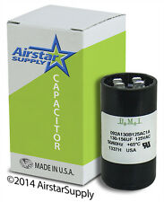 130-156 uF x 110/125 VAC • BMI Motor Start Capacitor # 092A130B125AC1A • USA