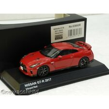 NISSAN GT-R R35 2017 VIBRANT RED KYOSHO MODEL 1/43 #03893R