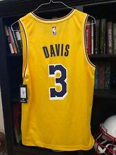 New Anthony Davis Los Angeles Lakers NBA Authentics Basketball Replica Jersey