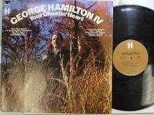 Country Lp George Hamilton Your Cheatin' Heart On Harmony