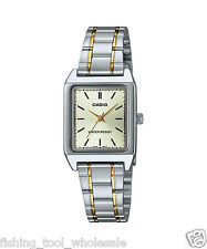 LTP-V007SG-9E Gold Casio Ladies Women Watches Stainless Steel Band Brand-New
