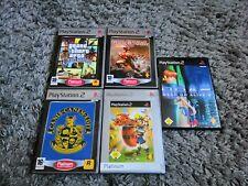 PS2 5 Games Collection Spielesammlung PlayStation 2