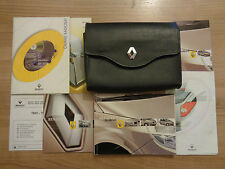 Renault Scenic Owners Handbook/Manual and Wallet 03-06