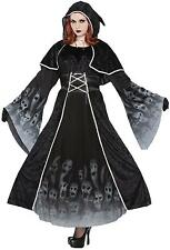 ADULT FORGOTTEN SOULS HOODED DRESS SPOOKY COSTUME PLUS SIZE FM76069