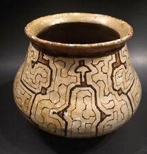 Antique Shipibo Pottery from South America - Peru - Early 20th Century