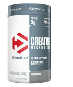 DYMATIZE MICRONIZED MONOHYDRATE CREATINE 60 SERVINGS UNFLAVORED 300 Grams