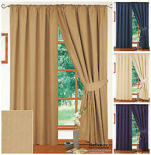 100% Cotton Contemporary Curtains & Blinds