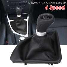 BMW SERIE 1 X3 E83 E87 nero in pelle leva del cambio Leva del Cambio Manopola 7537992
