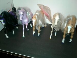 Vintage Barbie Doll Horses Lot Of 5