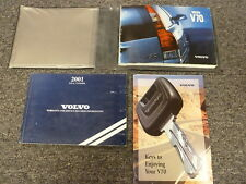 2001 Volvo V70 Wagon Owner Owner's Manual User Guide Book T5 XC 2.3L 2.4L