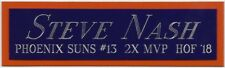 Steve Nash phoenix Suns Nameplate For Your Autographed Signed Basketball Jersey