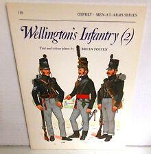 BOOK OSPREY MAA #119 Wellington's Infantry (2) op 1990 Edition