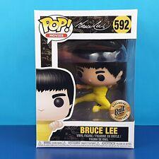 Bruce Lee Funko Pop Vinyl Game Of Death Bait Exclusive Jumping Kicking Kick #592