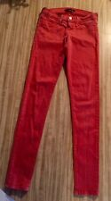 Womens Flying Monkey Skinny Jeans Coral Size 3