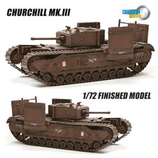 Dragon Churchill Mk.III 1/72 tank model finished non diecast