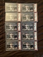 (10) LOT OF 10 2018 Topps Now Gleyber Torres Rookie RC #542 PSA 10 NY Yankees