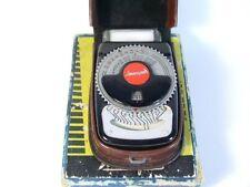 """Very rare lightmeter """"Leningrad"""". Case. Box. Ukraine."""