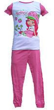 Short Sleeve Strawberry Shortcake Girls Pajamas size 2T