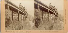 STEREOSCOPIE Stereoview KILBURN NEW-YORK STATION U.S.A.