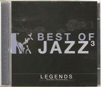 BEST OF JAZZ 3 LEGENDS CD ORIGINAL RECORDINGS - CHARLIE BARNET & MORE