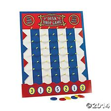 WOODEN DISK DROP GAME PLINKO STYLE NEW CARNIVAL PARTY