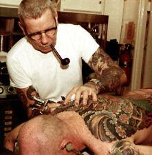 Sailor Jerry Norman Collins Tattoo Art 12  x 12 Photo Print
