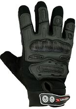 Motocross Gloves Carbon Shell Mountain Bike Motorbike Cycle Paintball Tactical