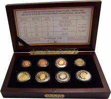 Belgien KMS 2003 PP Polierte Platte 1 Cent bis 2 € König Albert 3,88 € im Etui