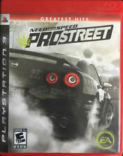 Need for Speed: ProStreet (Sony PlayStation 3, 2007)
