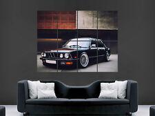 Cartel de auto BMW 21 clásica impresión de imagen imagen Pared Arte Enorme