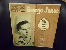 George Jones Singing 14 Top Country So 1955 VG- LP Mercury Top Hit: Why Baby Why