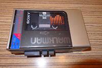 Sony WM F9 mit Radio Cassette Player . 3,5 mm Stecker (40) Walkman. Defekt